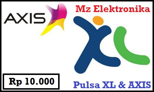 Pulsa 10ribu (XL & AXIS)