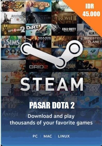 Steam Wallet IDR 45.000