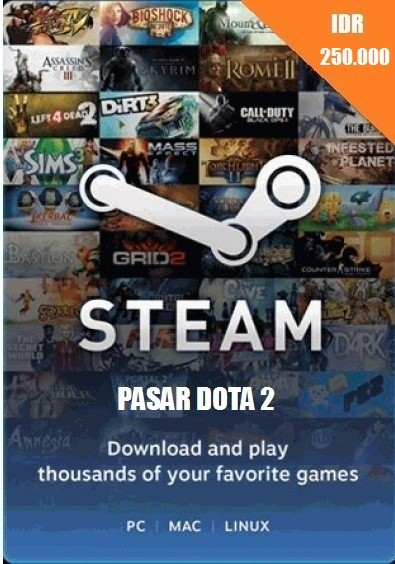 Steam Wallet Code IDR 250.000