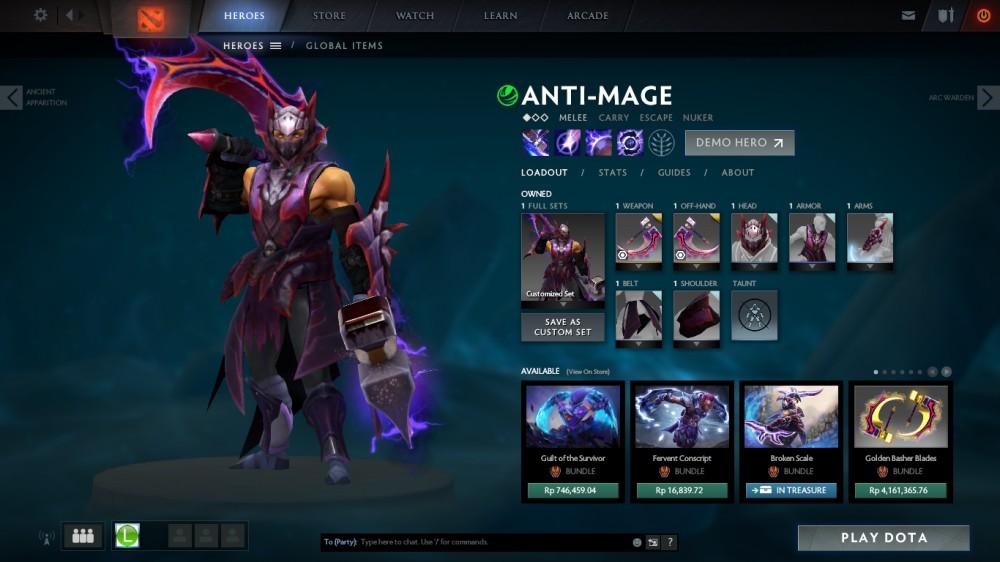 Anti Mage mix set