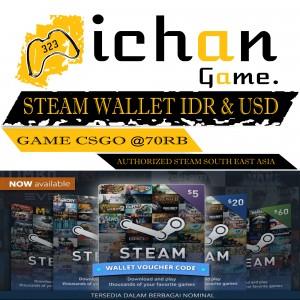Steam Wallet Code - IDR 8.000