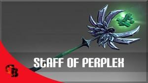Inscribed Staff of Perplex (Immortal Rubick)