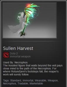 Sullen Harvest (Immortal TI7 Necrophos)