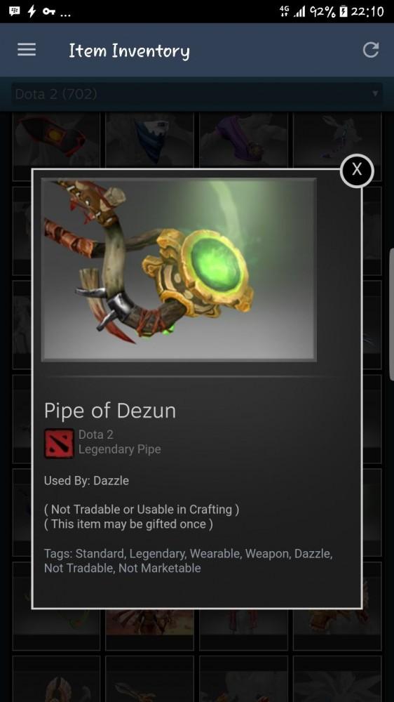 Pipe of Dezun (Dazzle)