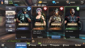 Role Warrior Mila(Permanent)+Evil AK47 VIP0