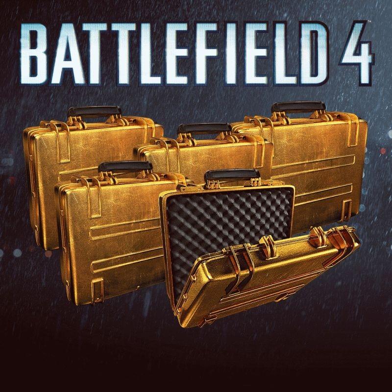 Battlefield 4 Battlepacks GOLD 3x