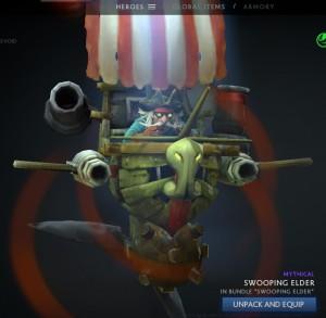 Swooping Elder (Gyrocopter Set)