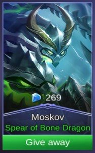 Spear of Bone Dragon (Skin Moskov)