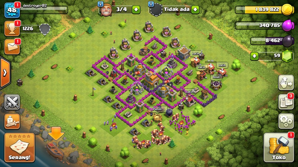 MAX Town Hall 7 Cn On
