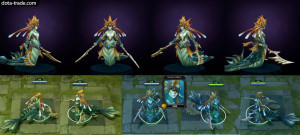 Garb of the Consuming Tides (Naga Siren Set)