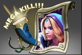 Mega-Kills: Crystal Maiden (Announcer)