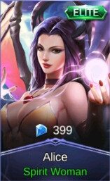 Spirit Woman (Elite Skin Alice)