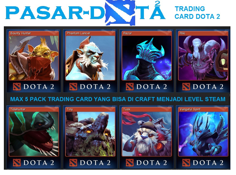 steam tradding card dota 2 ( level up steam)