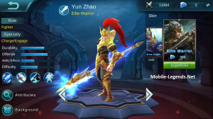 Elite Warrior (Elite Skin Zilong)