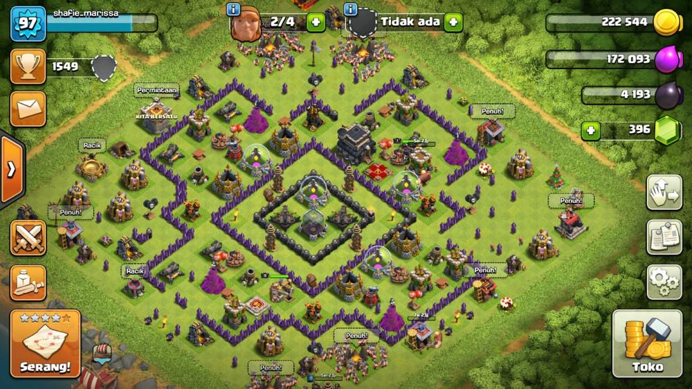 Town Hall 9 | Att Log Kosong | Bonus Clan