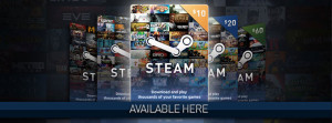 Steam Wallet Code - US$10