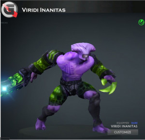 Viridi Inanitas (Faceless Void Set)