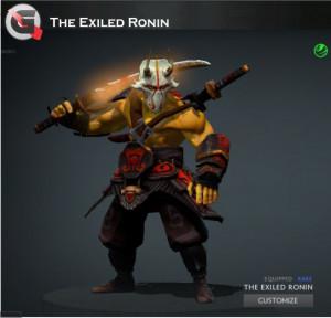 The Exiled Ronin (Juggernaut Set)