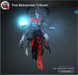 The Serakund Tyrant (Lich Set)