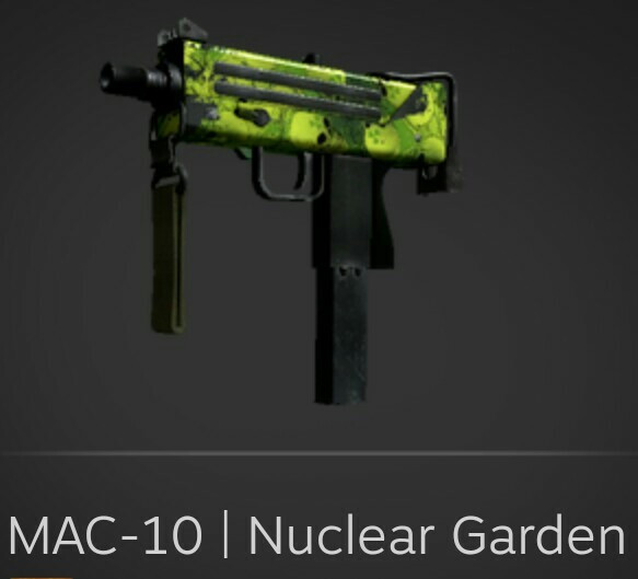 MAC-10 | Nuclear Garden (Mil-Spec SMG)