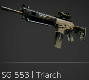 SG 553 | Triarch (Restricted Rifle)