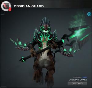 Obsidian Guard (Outworld Devourer Set)