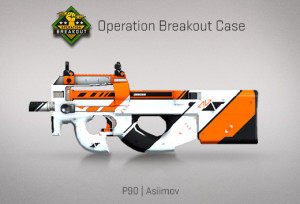 P90 | Asiimov (ft)