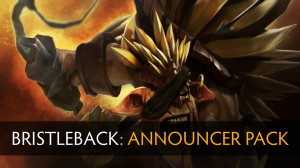 Announcer Pack Bristleback (Announcer+Mega-kill)