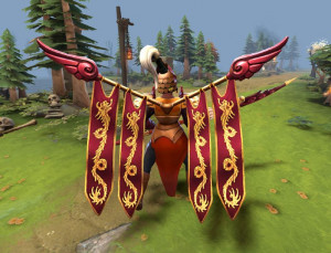 Commander of the Dragon Guard (Legion Commander Set)