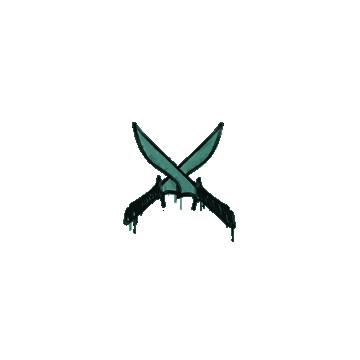 "Sealed Graffiti ""X-Knife"""