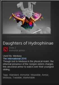 Daughters of Hydrophiinae (Immortal Medusa)