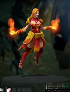The Battle Caster (Lina Set)