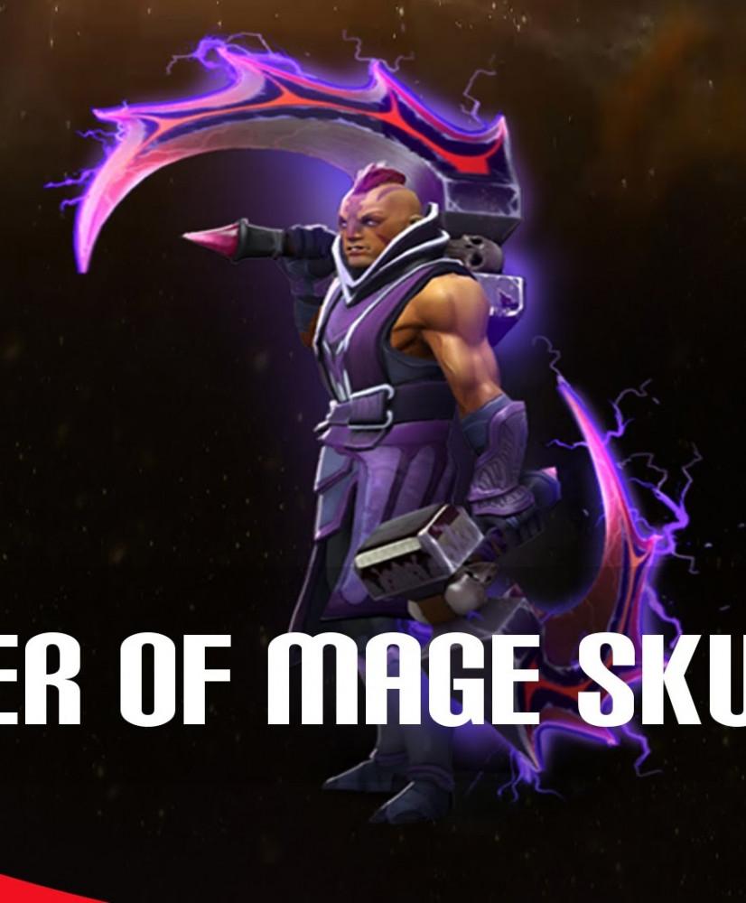 The Basher Blades SEPASANG (Immortal Anti-Mage)