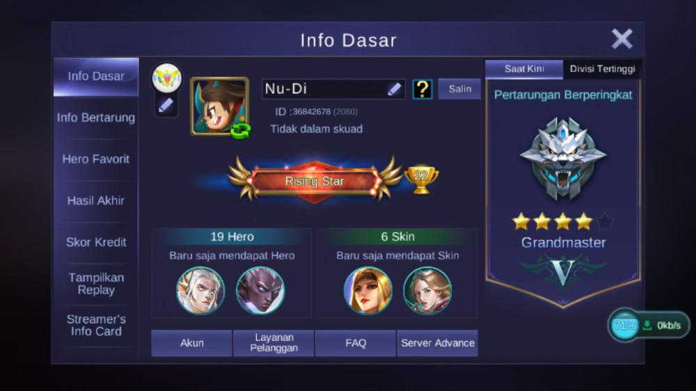 Level 3 Tier Grandmaster Skin 6