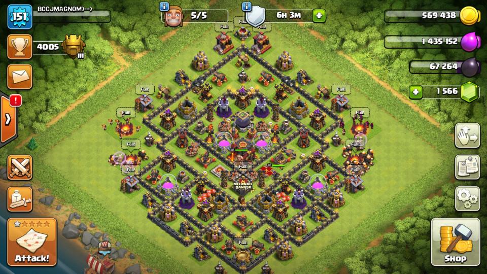MAX Town Hall 10 Titan League