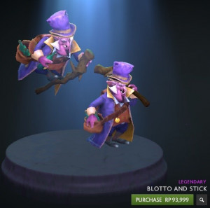 Blotto and Stick (Courier)