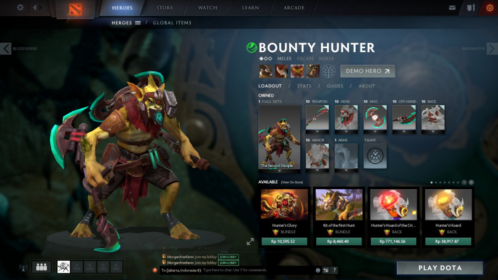 The Second Disciple (Bounty Hunter Set)