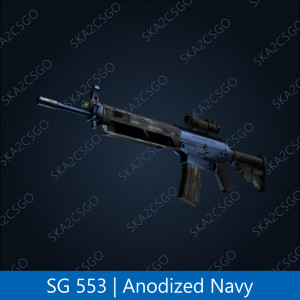 SG 553 | Anodized Navy (Mil-Spec Grade Rifle)