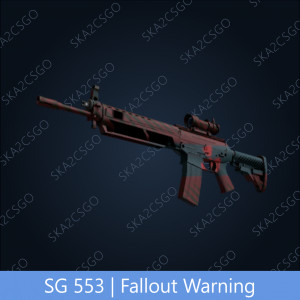 SG 553 | Fallout Warning (Industrial Grade Rifle)