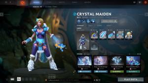 Frostiron Sorceress (Crystal Maiden Set)