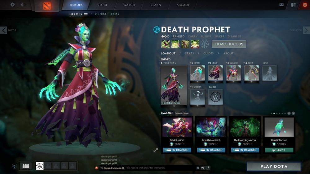 Foreteller's Robes (Death Prophet Set)