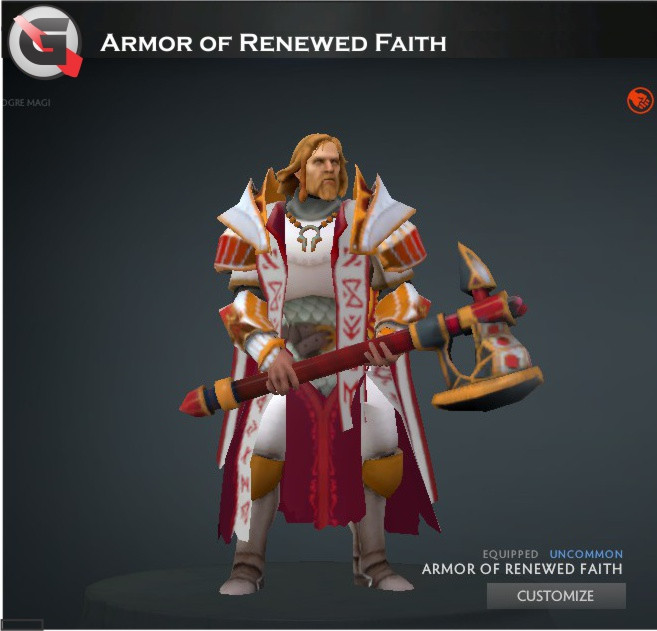 Armor of Renewed Faith Set (Omniknight Set)