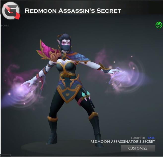 Redmoon Assassin's Secret (Templar Assassin Set)