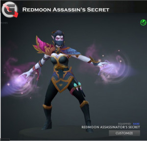 Redmoon Assassin's Secret (Templar Assassin Set)