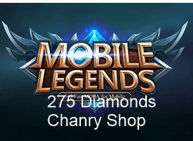(iOS&Android) Top Up 275 Diamonds