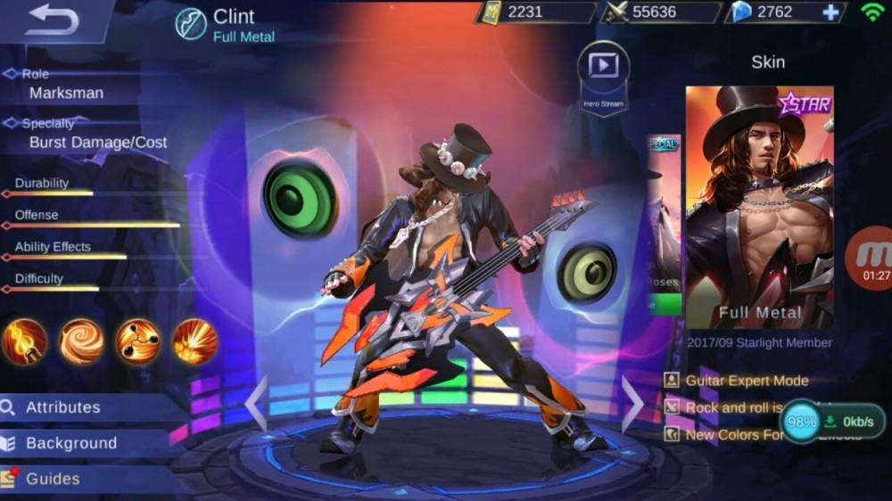 Full Metal (Skin Clint)