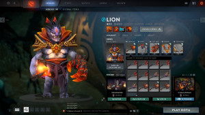 Hell's Ambassador (Lion Set)