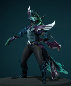 Toll of the Fearful Aria (Phantom Assassin Set)