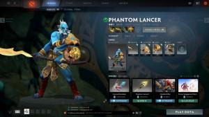 Honors of the Golden Mane (Phantom Lancer Set)