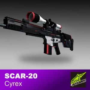 Scar 20 | Cyrex (Minimal Wear)